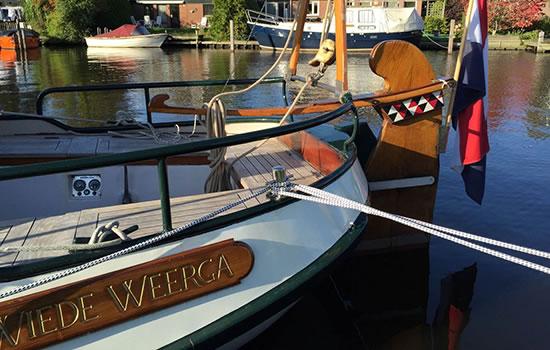 Plattbodenschiff Wiede Weerga
