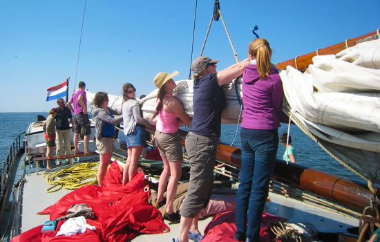sailing in teh Netherlands - organized by NAUTIC-TOURS